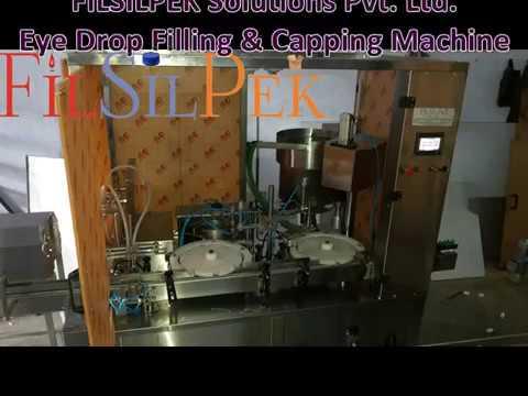Eye Drop filling Capping Machine