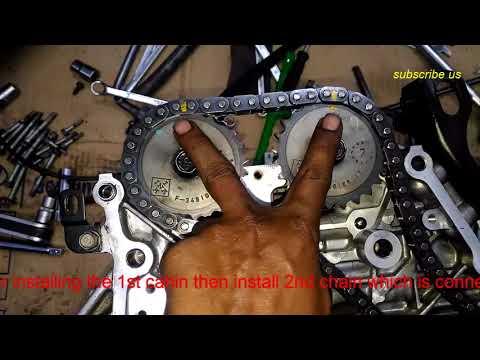 Hyundai C R D I chain timing