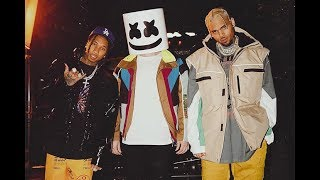 Marshmello, Tyga, Chris Brown   Light It Up (Lyrics Video) 2019