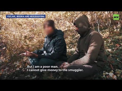 'Dangerous & inhumane' migrant camp in Bosnia-Herzegovina