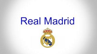 Real Madrid / Anthem 2017