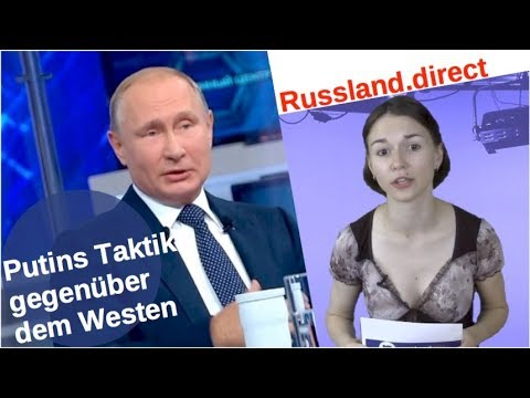Putins Taktik gegenüber dem Westen [Video]