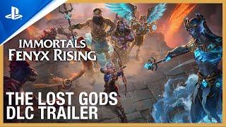 PlayStation Immortals Fenyx Rising - The Lost Gods DLC Trailer | PS5, PS4 anuncio