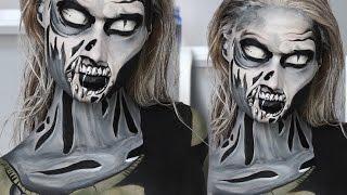 The Walking Dead Comic Zombie Makeup Tutorial