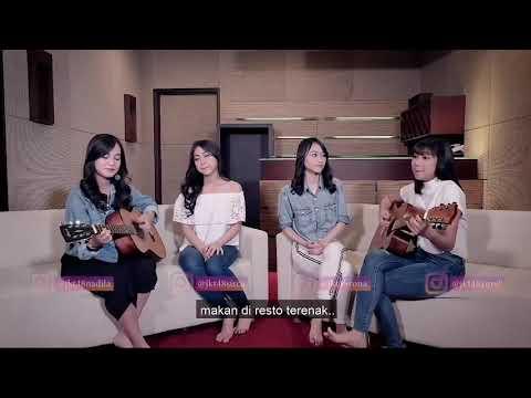 JKT 48 Acoustic - Berpisah Itu Mudah - Rizky Febian feat Mikha Tambayong Cover