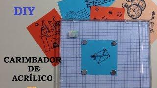 Carimbador De Acrílico, Como Fazer? - Tutoriais, Dicas & DIY -Estúdio Brigit