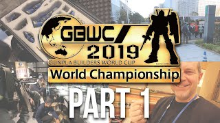 GBWC 2019 - Gunpla Builders World Cup Finals in Tokyo, Japan: The Complete Inside Experience! [Pt.1]