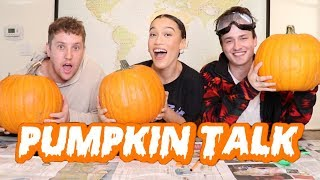 HALLOWEEN PUMPKIN TALK WITH COREY AND CRAWFORD! *we answer your questions!*