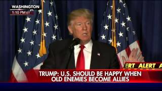 Trump: I will not surrender U.S. to false song of globalism.