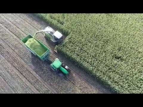Hobby-Imagefilm Agrarflüge mit Drohne, Ernte 2014 in HD