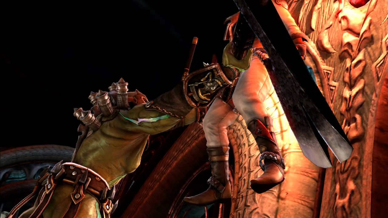 Watch Soulcalibur V's Two New Additions Smash It Up