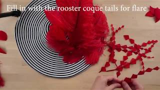 DIY Kentucky Derby Hat With Feathers The Feather Place