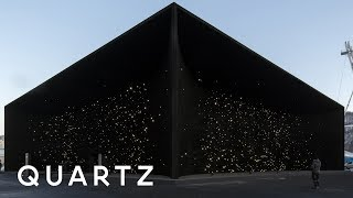 The World's Darkest Building Is At The 2018 Olympics