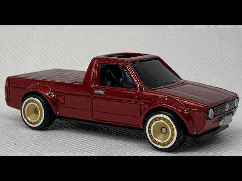 Hot Wheels Customizing : Volkswagen Caddy