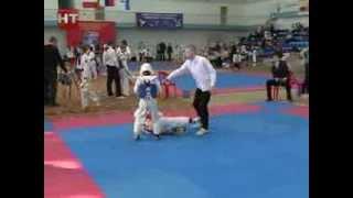 В спорткомплексе НовГУ состоялся открытый Чемпионат Новгородской области по тхэквондо