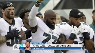Why Eagles DE Chris Long Supported Malcolm Jenkins