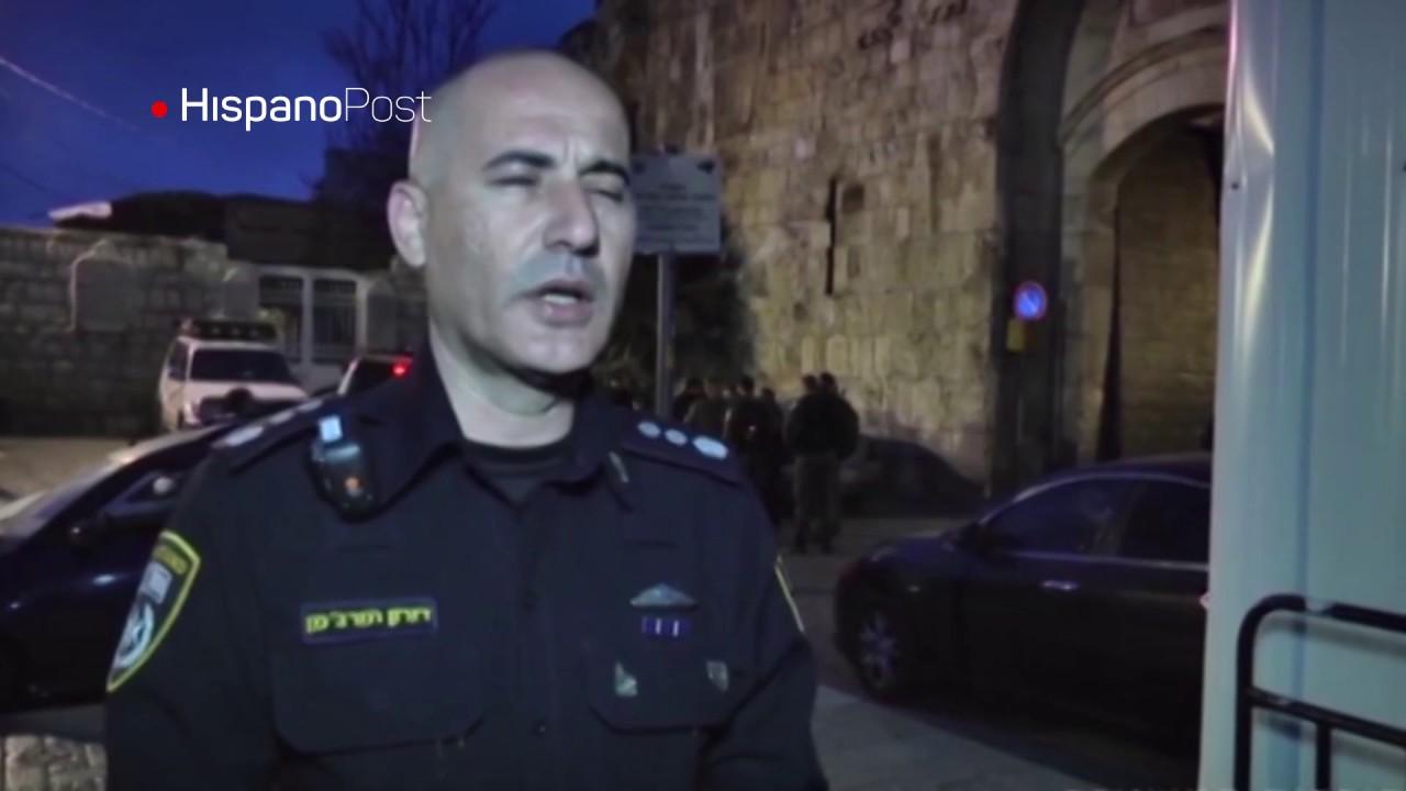 Matan a palestino que atacó a dos policías israelitas