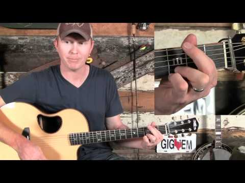 How to Play a Bluegrass or Country G Chord on Guitar