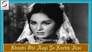 Khushi Bhi Aayi To Kuchh Aisi | Lata Mangeshkar @ Saheli