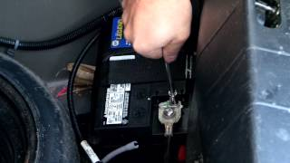 How to replace the battery in a Chevy Cobalt