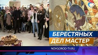 В Доме народного творчества открылась персональная выставка Владимира Ярыша к юбилею автора
