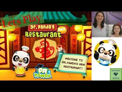 Wir spielen Dr. Panda's Restaurant App| Let's Play iPad 💕 Geschichten und Spielzeug Kinderkanal