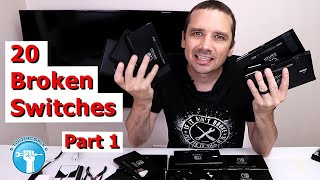 I Paid $1,815 for 20 Broken Nintendo Switches - Let's Make Some Money!