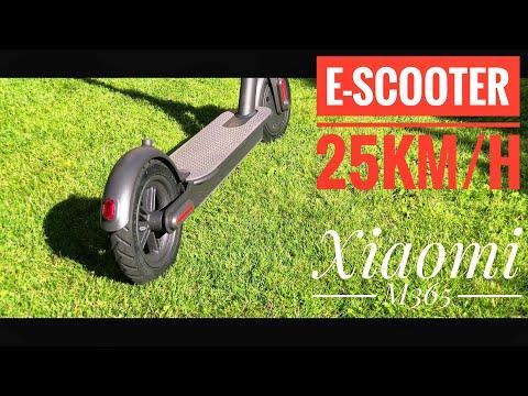 Hands On : eScooter XIAOMI M365 mit 25km/h und großem Akku