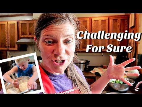 😲Mega Mom Includes Kids in All She Does | Gardening | Canning Beans & Salsa🍅