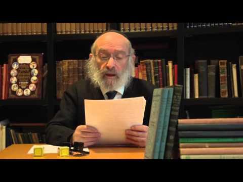 Vrouwen In Het Jodendom  - Rabbijn I. Vorst Spreekt - De Week Van Parsjat Jitro (5776)