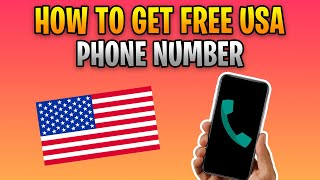 How To Get Free US Phone Number For Verification 2020 Tutorial