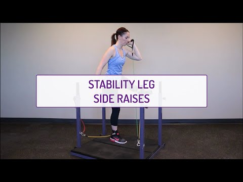 Stability Leg Side Raises