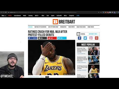 NBA And MLB Get Woke Go Broke, Ratings TANK, Following Social Justice Nonsense
