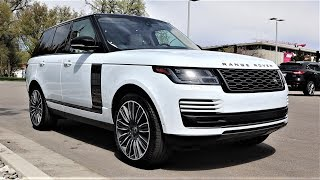 2020 Land Rover Range Rover HSE V8: Heres The Crazy Stuff You Get In A Base Model Range Rover!