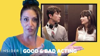 Pro Acting Coach Breaks Down 17 Love-At-First-Sight Scenes | Good & Bad Acting