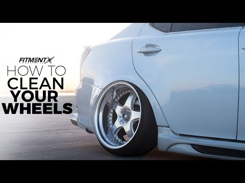How To Properly Clean Your Wheels