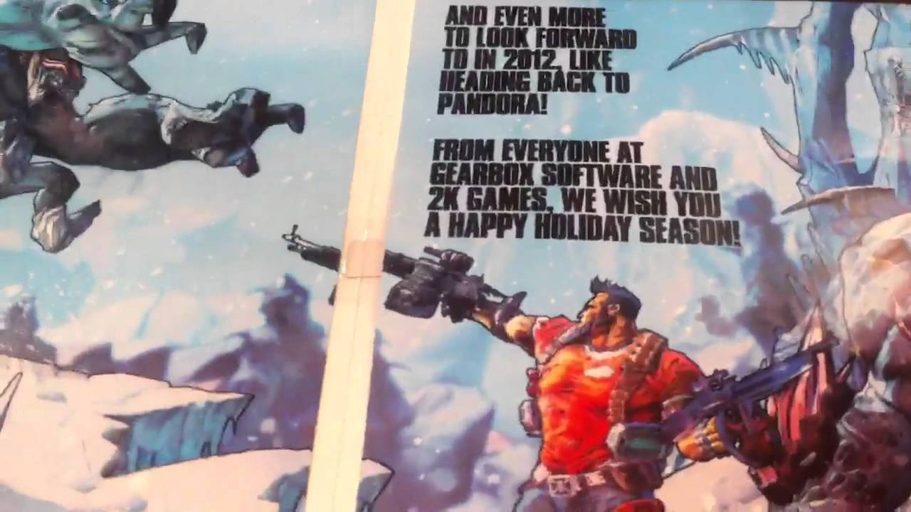See Borderlands 2's Talking Holiday Card In Action