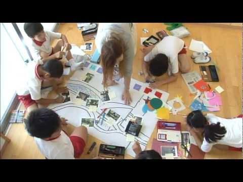 東京都市大学付属小学校 地域安全マップ作り教室