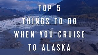 Royal Caribbean International: Things to Do When You Cruise to Alaska