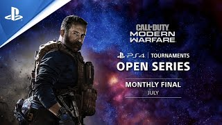 PS4 Tournaments : Open Series - Call of Duty: Modern Warfare Monthly Finals NA