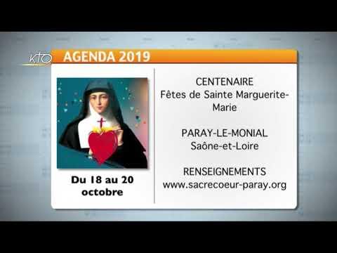 Agenda du 18 octobre 2019