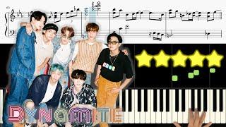 BTS (방탄소년단) - Dynamite [피아노 튜토리얼]