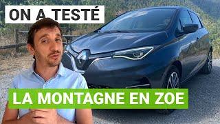 La Renault ZOE à l'assaut du col de Turini !