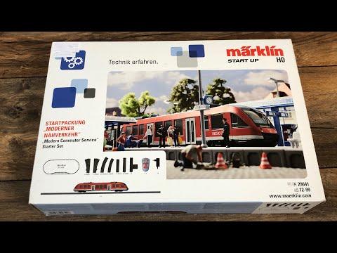 Märklin Startpackung 29641 Moderner Nahverkehr - Test Review & Unboxing Modellbahn H0 Digital