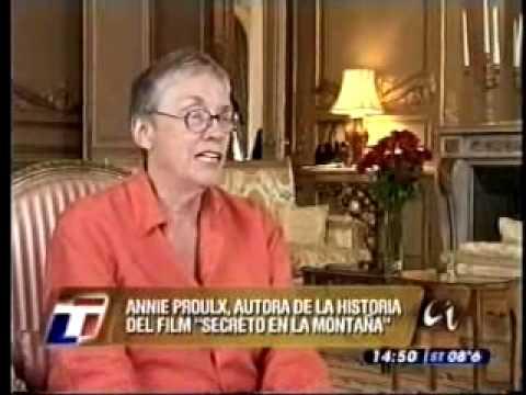 Vidéo de Annie Proulx