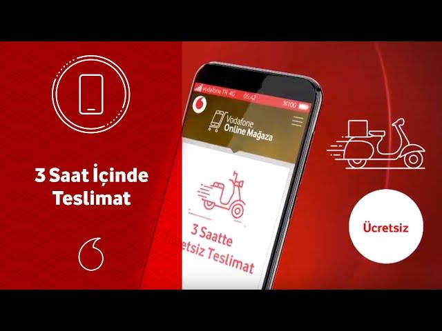 Vodafone Online Mağaza telefonunuz 3 saat içinde nasıl teslim eder?