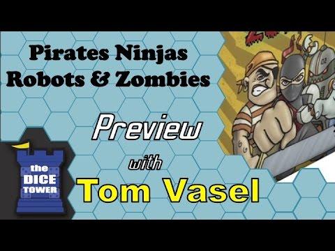 Dice Tower Reviews: Pirates, NInjas, Robots, & Zombies
