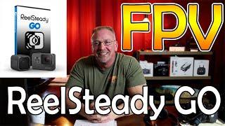 FPV - GoPro Hero9 Black & ReelSteady GO - Maiden Flight