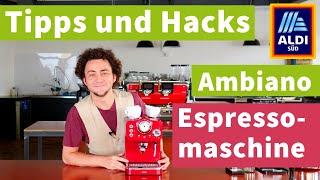 Neue 70 €-Aldi-Espressomaschine tunen – Espresso-Tipps & Hacks 2020