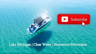 Lake Michigan Has Clear Water   Clear Water   Drone   DJI Drone Footage